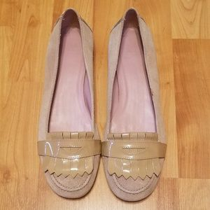 GAP   leather loafer